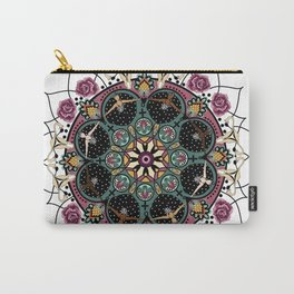 female mandala Carry-All Pouch