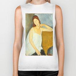 """Amedeo Modigliani """"Jeanne Hebuterne"""" Biker Tank"""