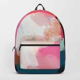 pink sky Backpack