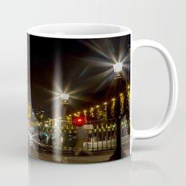 Arc de Triomphe and Champs Elysees Coffee Mug