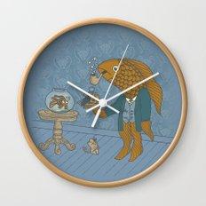 Big Eyed Fish Wall Clock