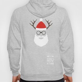 Luxuriant Christmas and Beardy New Year Hoody
