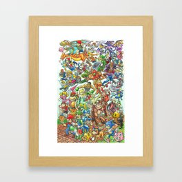 Smashing Good Times Framed Art Print