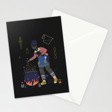 Witch Series: Cauldron Stationery Cards
