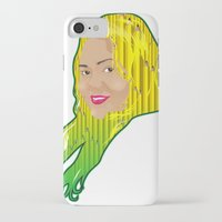 jamaica iPhone & iPod Cases featuring Jamaica Girl by Theophilus Marks