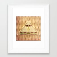 triforce Framed Art Prints featuring Triforce by matteolasi