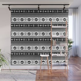 Ugly Sweater Society6 Wall Mural
