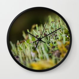 micro forest Wall Clock