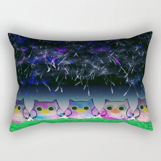 owl-3 Rectangular Pillow