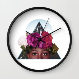 The Best Flowers to Give a Girl Wall Clock