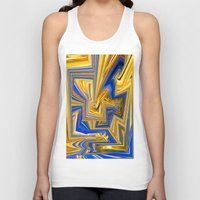 alchemy Tank Tops featuring Attempted Alchemy by David  Gough