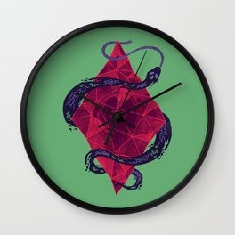 Mystic Crystal Wall Clock