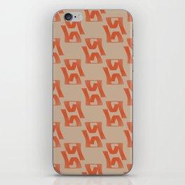 Pattern X iPhone Skin