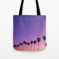 Palm Sunset Tote Bag
