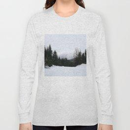 Mist between mountains Long Sleeve T-shirt