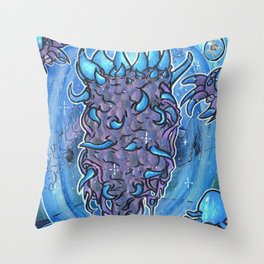 Stardust pillar Throw Pillow