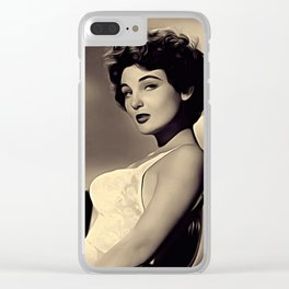 Allison Hayes Clear iPhone Case