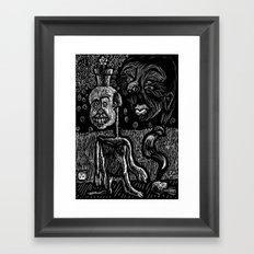 Sampson's dream Framed Art Print