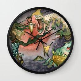 The Friend of Foes Wall Clock
