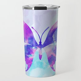 Abstract Butterfly Travel Mug