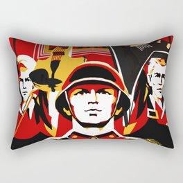 Art print: Propaganda Musik Rectangular Pillow