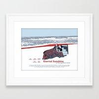 eternal sunshine of the spotless mind Framed Art Prints featuring Eternal Sunshine Of The Spotless Mind by Ted Takeshi Doré