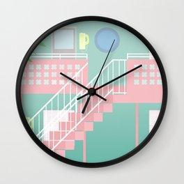 Motel Paradise Wall Clock