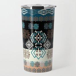 Boho Tribal Pattern 9 Travel Mug