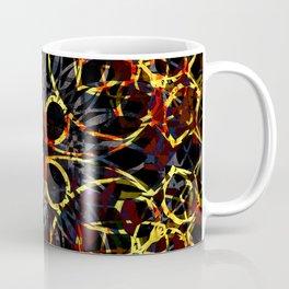 Flashy Colorful Boho Pattern Coffee Mug