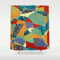 the 100 Shower Curtains featuring Abstract #100 by Ron Trickett