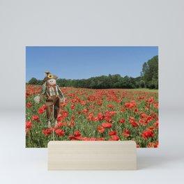 Poppy The Scarecrow  Mini Art Print