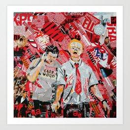 Shaun of the dead Art Print