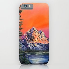 Mountains in Canada iPhone Case