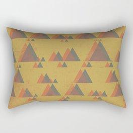 Mountainous Perspective Rectangular Pillow