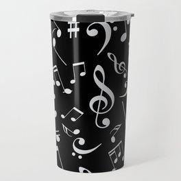 Musical Notes 20 Travel Mug