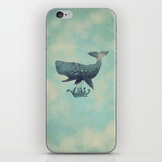 Tea at 2,000 Feet iPhone & iPod Skin