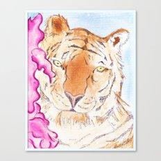 Tiger #1 Canvas Print