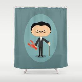 Salvador Dalí Shower Curtain