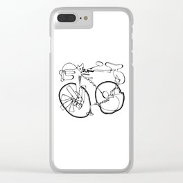 10-Speed Clear iPhone Case