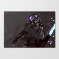 firefly Canvas Prints featuring Firefly by Benedick Bana