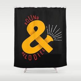 Sound & Melodies Shower Curtain