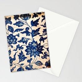 Blue Oriental Vintage Tile 06 Stationery Cards