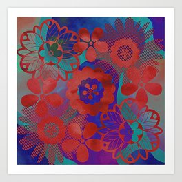 Add a Little Color Art Print