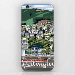 Wellington Harbour, NZ iPhone Skin