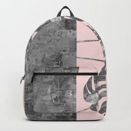 Watercolor tropical leaf IV Backpack