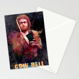 The Only Prescription Is More Cow Bell - Will Ferrell Stationery Cards