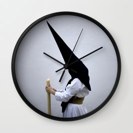 Pointed Hood Wall Clock
