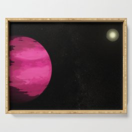 Pink Planet : gaLAXY Serving Tray