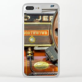 Fowler Road Locomotive Clear iPhone Case