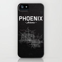 Phoenix, Arizona - b/w iPhone Case